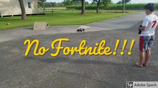 How to get kids off fortnite!!! Rc Car & RC truck Traxxas Rustler XL-5 & Arrma Granite 3s Blx