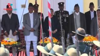 Vice President Nanda Kishore Pun take oath in the name of Nepalese & Nation  |  ( Media Np TV)