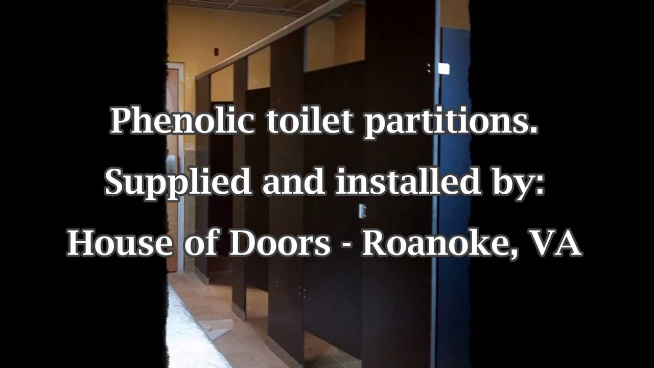 A picture is worth a 1000 words. Phenolic toilet partitions by House of Doors - Roanoke VA.  sc 1 st  YouTube & A picture is worth a 1000 words. Phenolic toilet partitions by ...