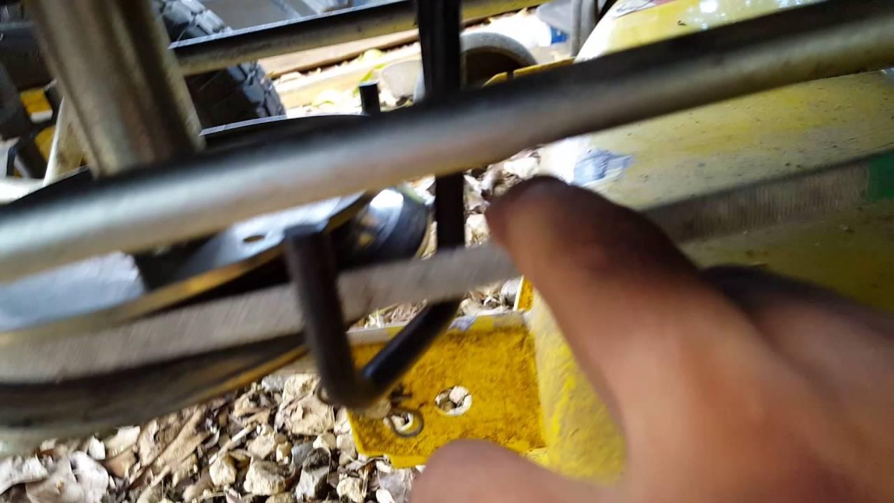 John Deere Riding Mower Pto Belt Tension
