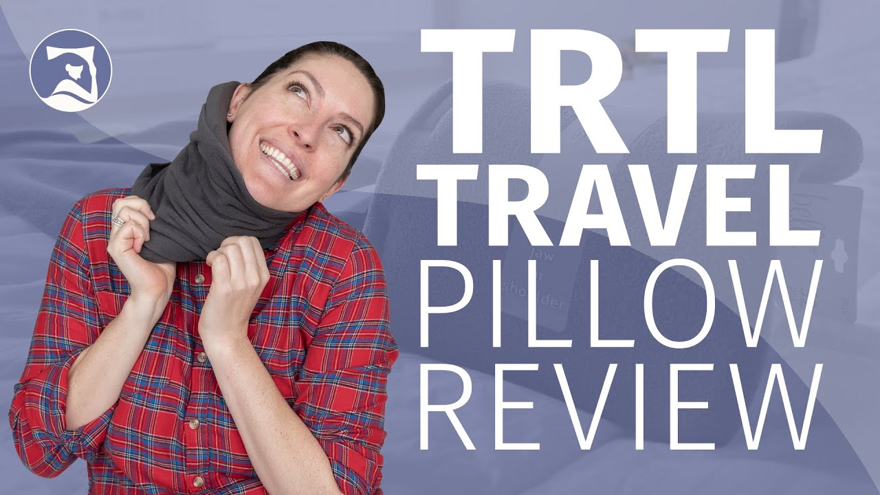 Trtl Travel Pillow Review Does This Thing Really Work Youtube