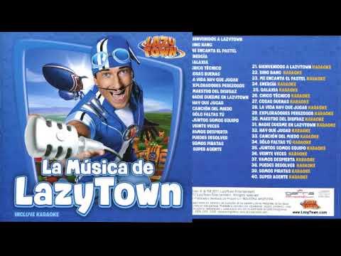 La Música De LazyTown CD Español