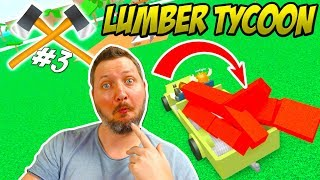 LAVA TREES FOR MOOSE! -Roblox Lumber Tycoon 2 Ep 3 Danish season 2