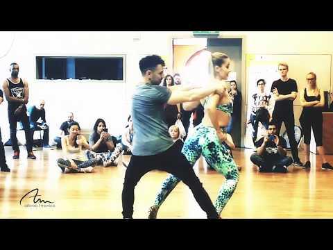 Alfonso y Mónica | Daniel Santacruz - Rápida y furiosa | Bachata Workshop | Lausanne SBK Festival 18