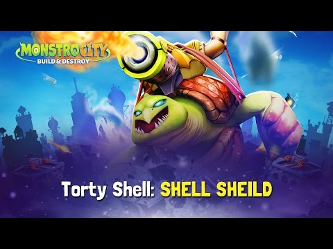 MonstroCity: Rampage! - How to Play - Torty Shell: SHELL SHIELD