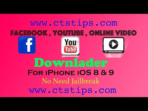 All In One Video Downloader For IPhone IOS 8 & 9