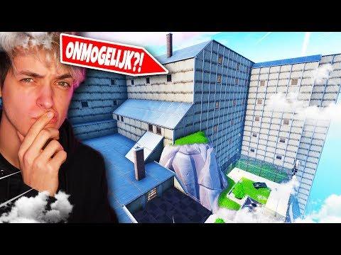 ONMOGELIJKE MEGA PRISON ESCAPE in Fortnite Creative ft. Mannen (Nederlands)