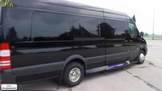 Аренда микроавтобуса черного цвета в Мосвке