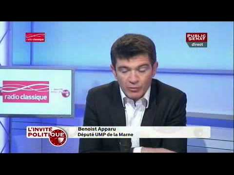 """L'invité politique - Benoist Apparu : """"Patrick Buisson parle pour lui-même, il ne parle pas pour Nicolas Sarkozy"""""""
