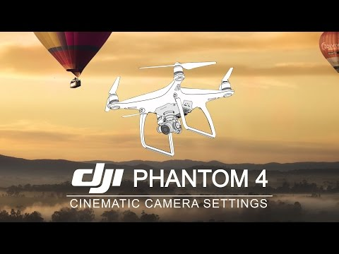 DJI Phantom 4 | Best Camera Settings