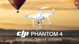 DJI Phantom 4 | Best Camera Settings(Let me show you how to easily setup your DJI Phantom 4's camera (http://goo.gl/15gNro) and achieve great looking footage. Next to that I will explain what ISO, ..., 2016-03-15T02:43:41.000Z)
