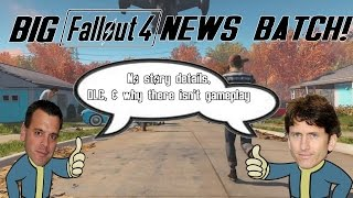 FALLOUT 4 News - No More Story Details, DLC Conceptualized, & Why We Haven't Seen More FO4! thumbnail
