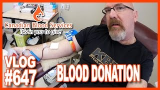 canadian blood services ken donates ben buys a car pay the ghost ken s vlog 647