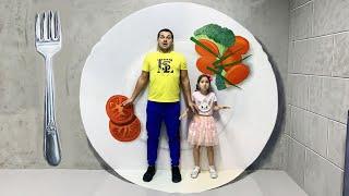 صوفيا تلعب في مدينة الأطفال وفي متحف الأوهام
