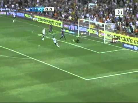 Bài bìnhvideo Valencia -- Barca Niềm vui cho...La Liga - Bong da.flv