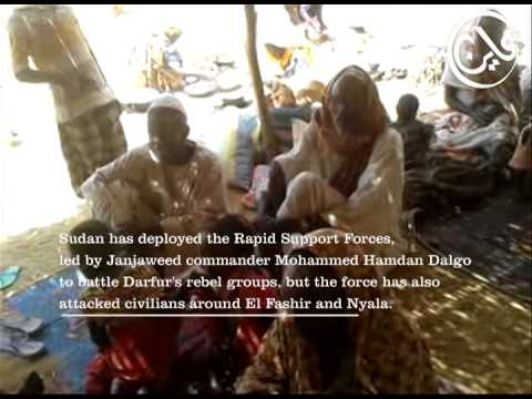 Raw Video: Displacement in Darfur