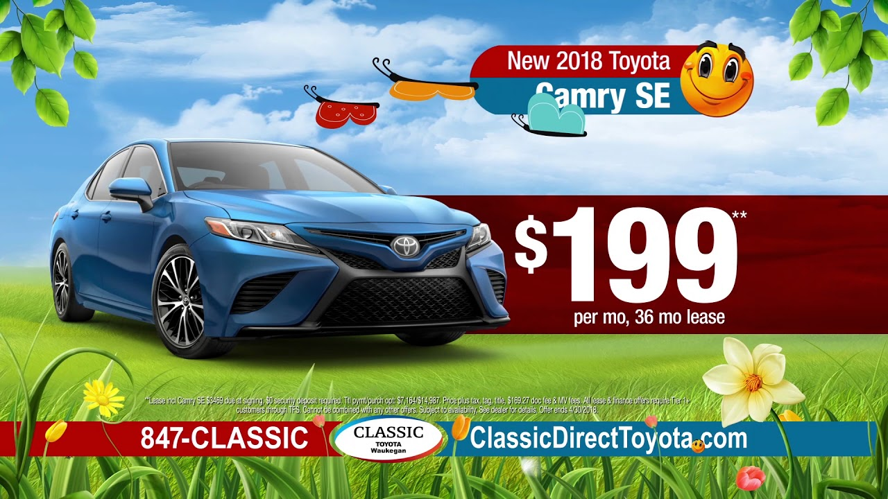Classic Toyota Waukegan >> Spring Sales Event At Classic Toyota