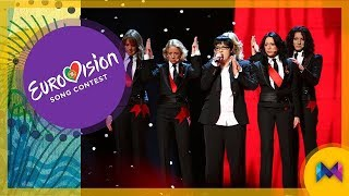 Eurovision 1956-2018 - TOP 10 Most Successful Debuting Entries