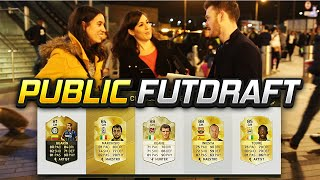 OMG NEW LEGEND PUBLIC FUT DRAFT w/GIRLS - FIFA 16 ULTIMATE TEAM