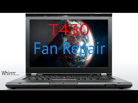 Changing the RAM and Keyboard in a Lenovo T430 laptop - YouTube