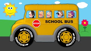 Wheels On The Bus | Baby Big Mouth Nursery Rhymes & Kids Songs | New Silly Version
