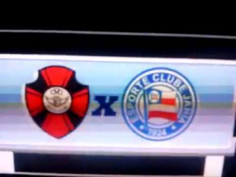 TV Bahia comete gafe com escudo do Bahia e exibe emblema com o nome 'Jahia'; veja