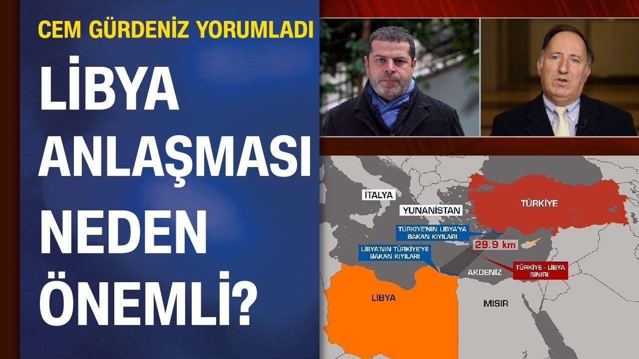 Cem Gürdeniz, Cüneyt Özdemir'e cevapladı: Mavi Vatan nedir? Libya Anlaşması neden önemli?