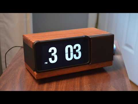 How to make an iPhone into a classic flip-number clock radio! DIY