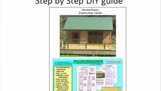 Easy Cabin Plans- Blueprints, Home Design Store