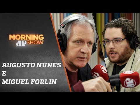 Augusto Nunes e Miguel Forlin - Morning Show - 160819
