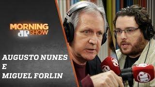 Augusto Nunes e Miguel Forlin - Morning Show - 16/08/19