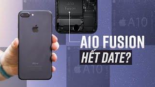 iPhone 7 Plus sau 5 năm: Phải gắn quạt chơi game - Đã đến lúc tạm biệt A10 Fusion?