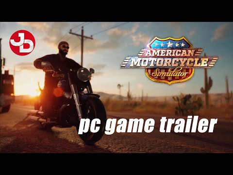 American Motorcycle Simulator PC Game Trailer thumbnail