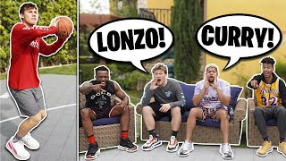 NBA JUMPSHOT CHARADES!