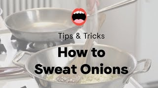 Tip Tuesday: How to Sweat an Onion | Project Foodie