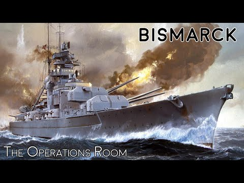 Sinking The Battleship Bismarck - Time-Lapse