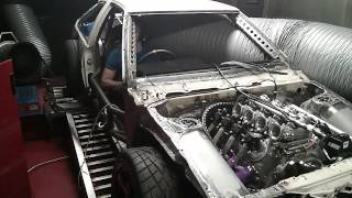 2018 Dodge Challenger SRT Demon V8 Dyno Run