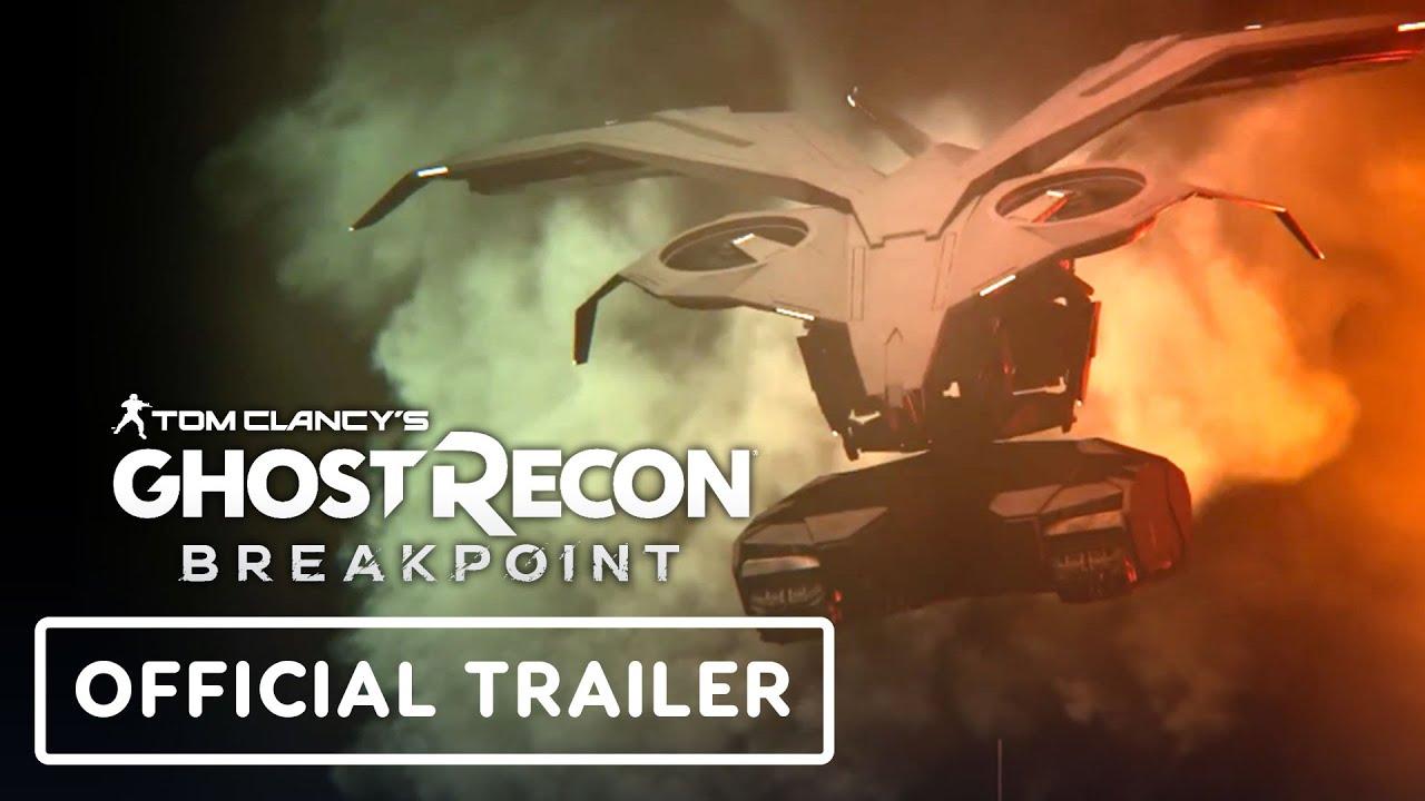 Tom Clancy's Ghost Recon Breakpoint: tráiler oficial del proyecto Titan Raid + vídeo