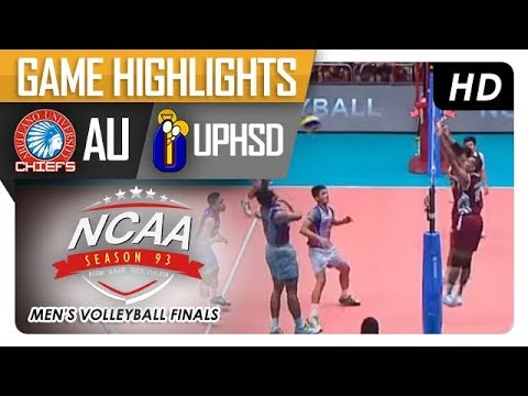 NCAA 93 MV: AU vs UPHSD | Finals Game Highlights | February 16, 2018