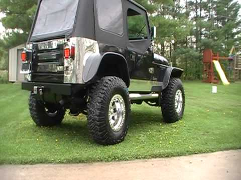 89 Custom Jeep Wrangler - YouTube