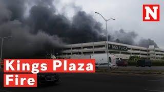 Kings Plaza Fire: Brooklyn Shopping Center Fire Engulfs Cars
