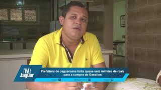 Prefeitura de Jaguaruana lícita quase sete milhões de reais para comprar Gasolina em 2018