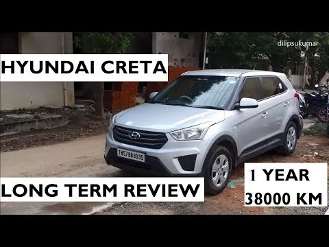 Hyundai Creta Long Term Review Base E Plus Variant After 1 year and 38000 KM