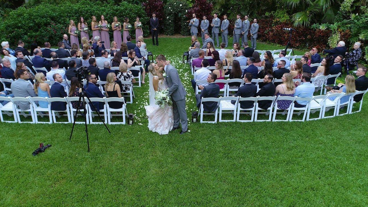Sunken Gardens Wedding.Wedding By Drone Sunken Gardens St Petersburg