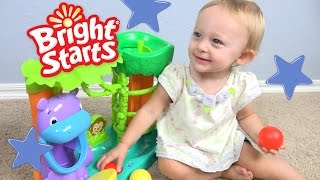 Baby Toys Bright Starts Having A Ball Jungle Fun Ball Climber with Chloe!