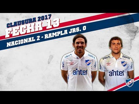 Clausura 2017 Fecha 13 / Nacional 2 - Rampla Jrs. 0