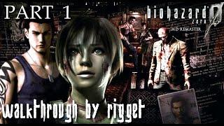 Resident Evil Zero HD Remaster Прохождение Часть 1 Таинственный поезд