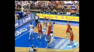Spain vs Serbia & Montenegro 2005 Eurobasket Group Round FULL GAME Spanish
