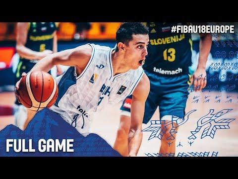 Bosnia and Herzegovina v Slovenia - Full Game - Round of 16 - FIBA U18 European Championship 2017