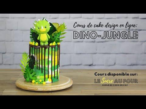 cours-de-cake-design-en-ligne-dino-jungle